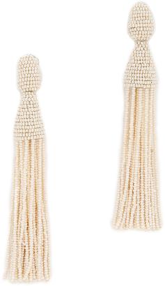 Oscar de la Renta Tassel Earrings $395 thestylecure.com