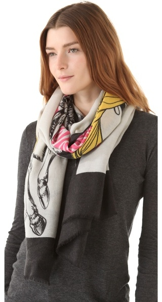 We are owls Lady Deer Scarf