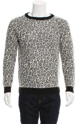 Saint Laurent Babycat Mohair Sweater