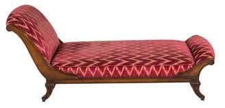 Upholstered French Chaise