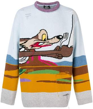 Calvin Klein x Looney Tunes Coyote sweater