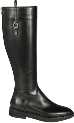 L'Autre Chose Rear Zip Boots