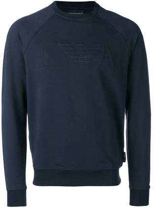 Emporio Armani round neck sweatshirt