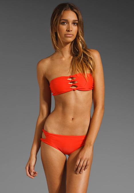 MIKOH Monaco Cut Out Bandeau