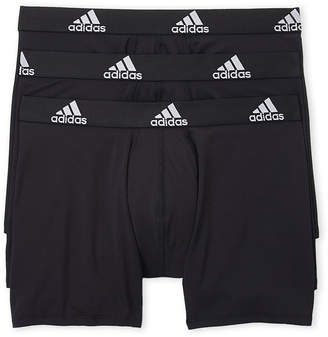 34ae20eedc60 adidas 3-Pack Climalite Boxer Briefs