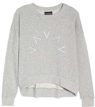 Varley Holborn Embroidered Sweatshirt
