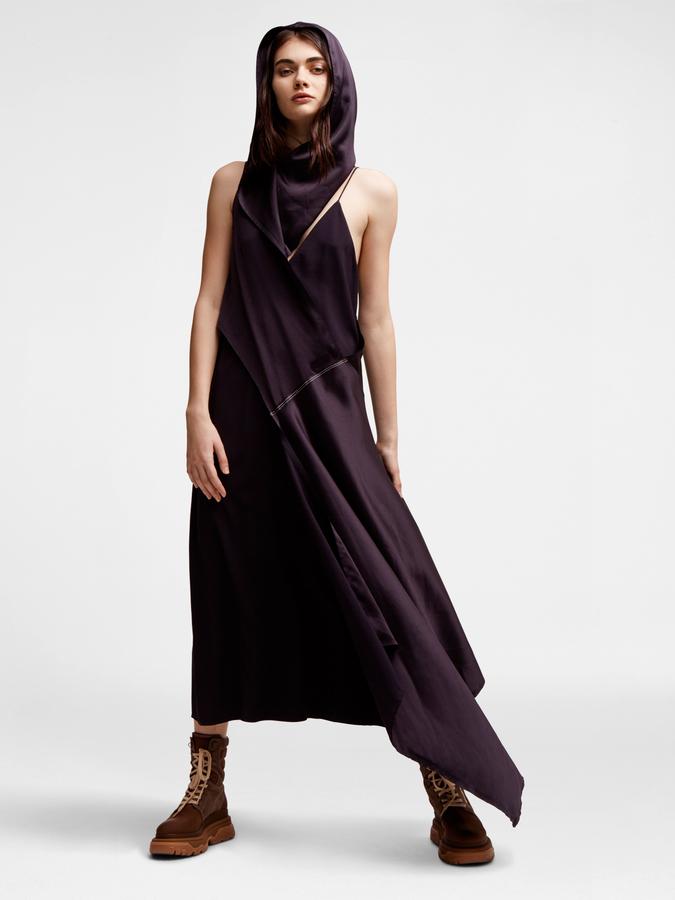 DKNYHooded Maxi Dress