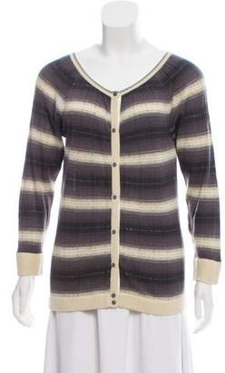Marc by Marc Jacobs Striped Button-Up Cardigan