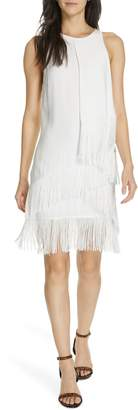 Joie Amiyah Tiered Fringe Dress