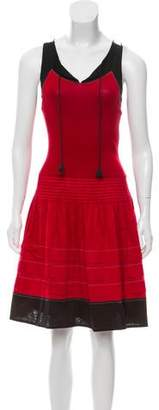 Paule Ka Sleeveless Midi Dress