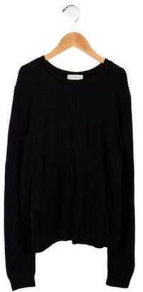 LES COYOTES DE PARIS Knit Crew Neck Sweater