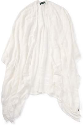 Ralph Lauren Sheer Blanket Scarf