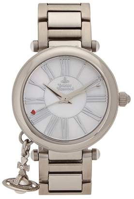 Vivienne Westwood Mother Orb Silver Tone Watch