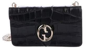 Gucci Crocodile 1973 Flap Bag
