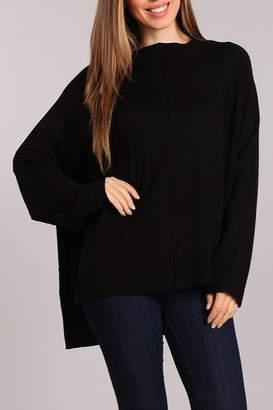 Blvd Side Slit Sweater