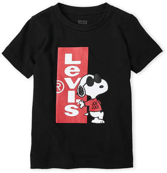 Levi's Boys 8-20) Joe Cool Snoopy Tee