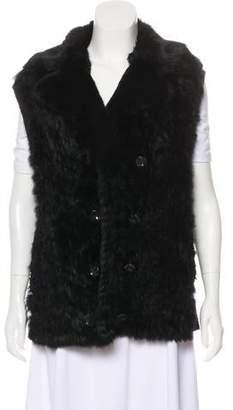 Marc by Marc Jacobs Rabbit Fur Vest