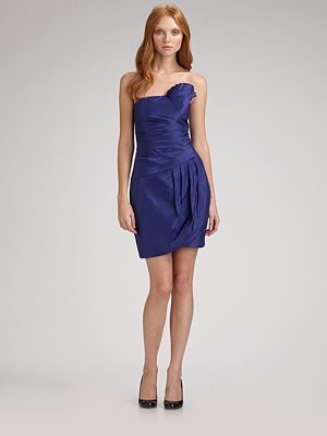 Catherine Malandrino Strapless Mini Dress