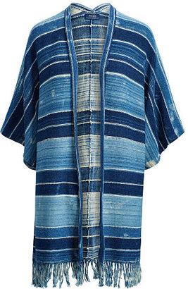 Polo Ralph Lauren Fringe Open-Front Cardigan $498 thestylecure.com