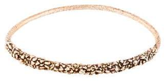 Alexis Bittar Floral Bangle