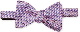 Thomas Pink Men's Silk Embroidered Bow Tie