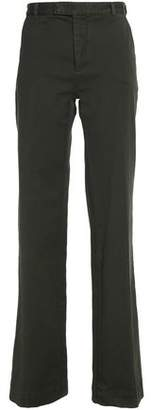 Etro Cotton-Blend Twill Wide-Leg Pants