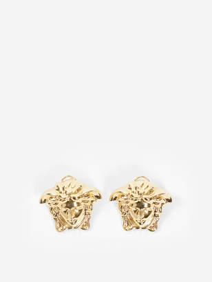 GOLD MEDUSA EARRINGS