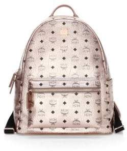 MCM Medium Stack Logo Backpack