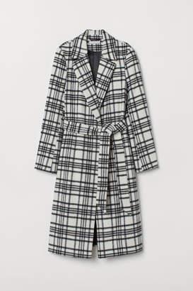 H&M Wool-blend Coat - White