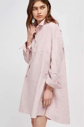 French Connenction Caspia Baby Cord Shirt Dress