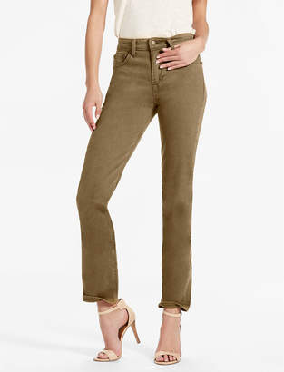 Lucky Brand BRIDGETTE HIGH RISE SLIM STRAIGHT JEAN IN ABBEYFIELD