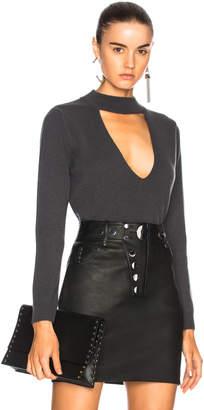 Michelle Mason for FWRD Choker Sweater