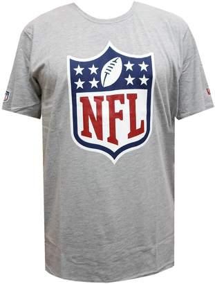 New Era NFL Logo Tee Heather Grey On Field Fan M,L,XL,XXL T T-Shirt Mens