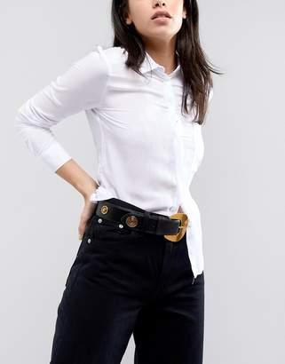 Asos DESIGN Stud Detail Jeans Belt