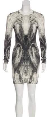 Alexander McQueen Long Sleeve Knit Dress