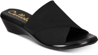 Callisto Shindy Slide Wedge Sandals, Created for Macy's