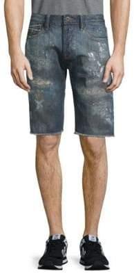 Cult of Individuality Rebel Distressed Denim Shorts