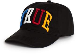 True Religion RAINBOW 3D BASEBALL CAP