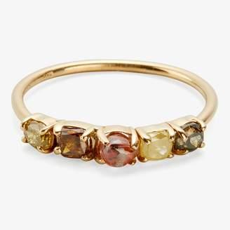 Xiao Wang Stardust Five Diamond Ring Diamonds, Gold