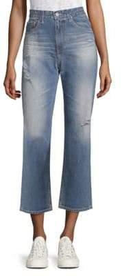 AG Jeans ed Vintage Rhett High-Rise Straight-Leg Jeans
