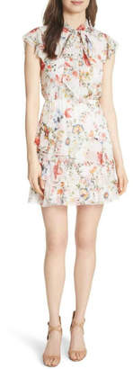 Alice + Olivia Lessie Floral Dress