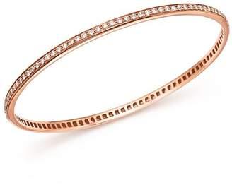 Roberto Coin 18K Rose Gold Diamond Bangle
