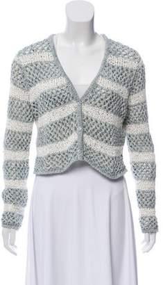 Altuzarra Crochet Crop Cardigan