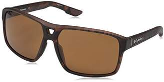 Columbia Men's Black Ridge P Polarized Aviator Sunglasses
