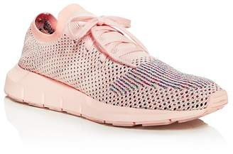 Adidas Women's Swift Run Lace Up Sneakers $120 thestylecure.com
