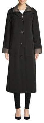Gallery Drawstring Hooded Coat