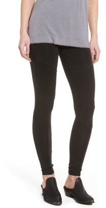 Women's Bp. Seamed Moto Leggings $39 thestylecure.com