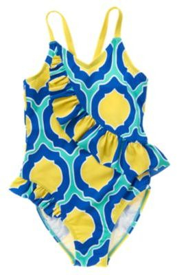 Crazy 8 Geo Print One-Piece Swimsuit