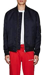 Kenzo Men's Logo-Tiger Tech-Twill Bomber Jacket - Navy