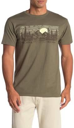 Fifth Sun Mountain Horizon Graphic Short Sleeve Crew Neck T-Shirt